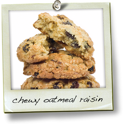 Chewy Oatmeal Raisin