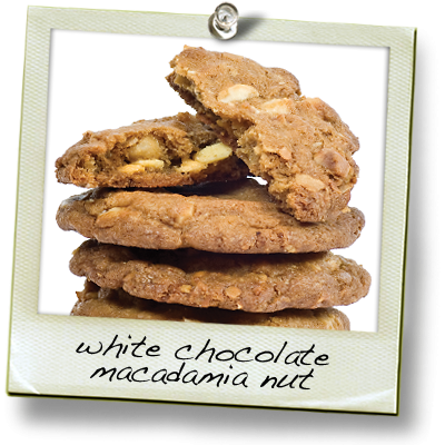 White Chocolate and Macadamia Nut