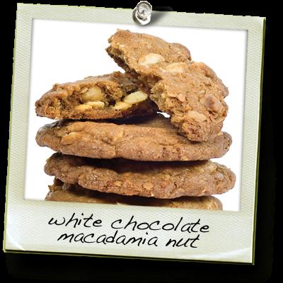 White Chocolate and Macadamia Nut